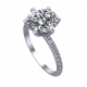Elissa Ring 6 Prongs WG