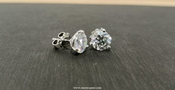 Adon Earrings & Amora gem