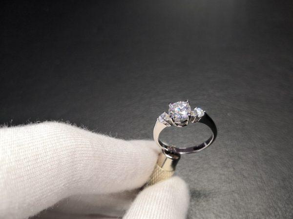 Paris Amora gem & diamonds ring